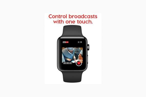 Control Live Streams on G9MD.TV with the G9 Live™ App and Apple Watch